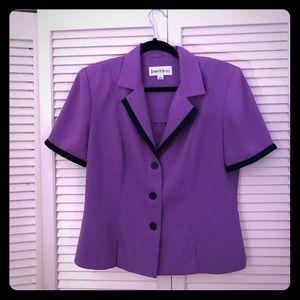 👒NEW👒EUC VTG Danny&Nicole short sleeve blazer